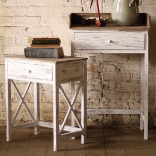 Pegasus Washed 2 Piece Nesting Tables by One Allium Way