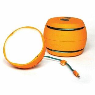 Best Price Wojcik Orange Battery Powered LED Outdoor Work Light