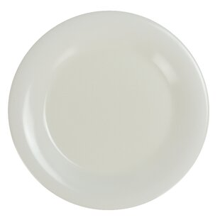 Seaford Narrow Rim Round Melamine Dinner Plate (Set of 12)