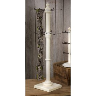 Eckard 2-Tier Rotating Free Standing Jewelry Armoire by Charlton Home