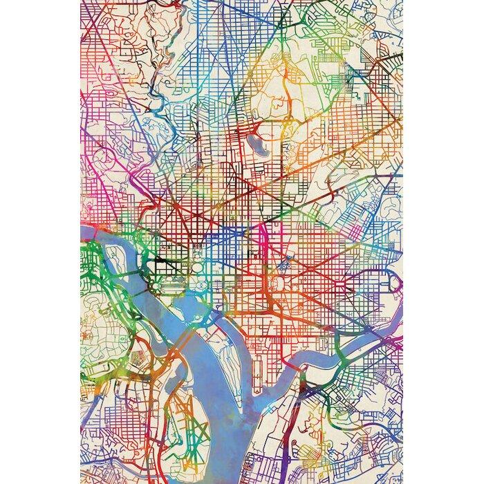 Dc Usa Map on