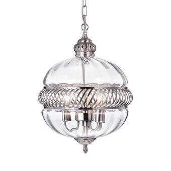 Schonbek Da Vinci 16 Light Unique Statement Globe Pendant Wayfair