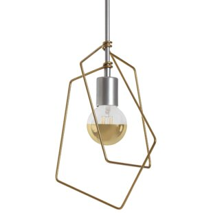 Vermont Modern 1-Light Geometric Pendant