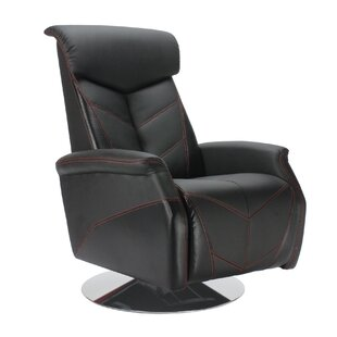 Racing Style Manual Lift Assist Recliner by PitStop Furniture
