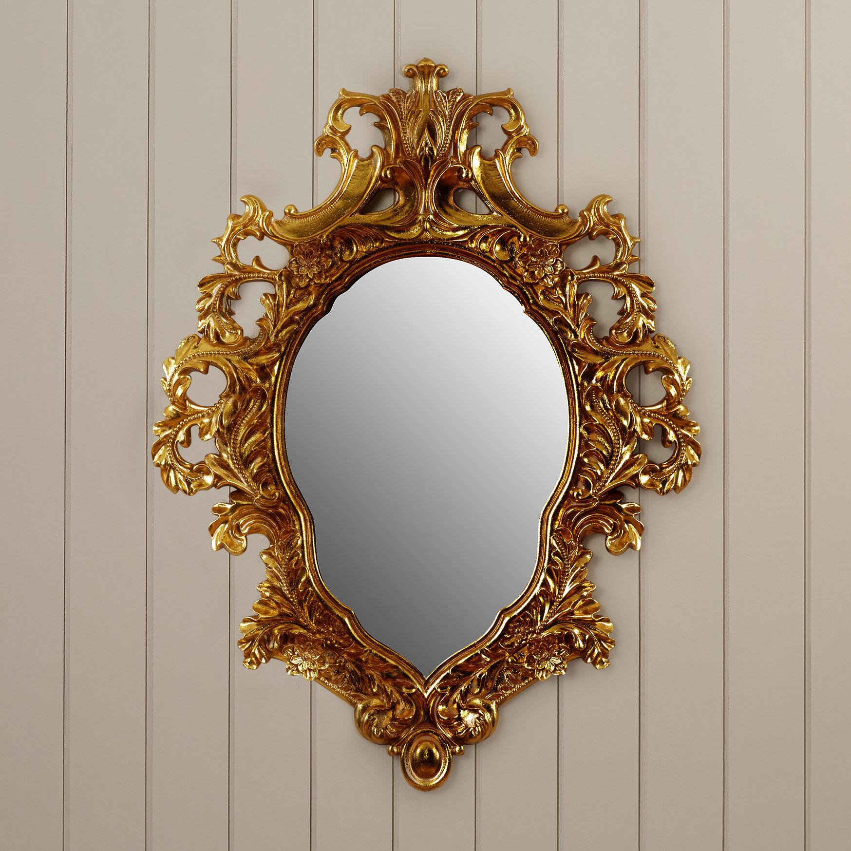 Design Toscano Madame Antoinette Salon Accent Mirror Reviews Wayfair Ca
