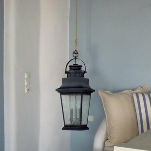 Timpson 3 Light Outdoor Hanging Lantern By Rosalind Wheeler