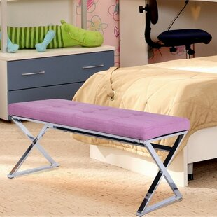 Ruckman Upholstered Bench by Wrought Studio