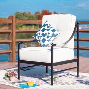 Siems Patio Chair with Cushions