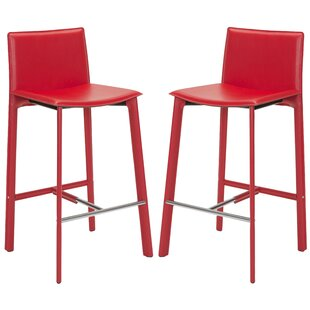 Carrillo 30 Bar Stool (Set Of 2) by Wade Logan Best