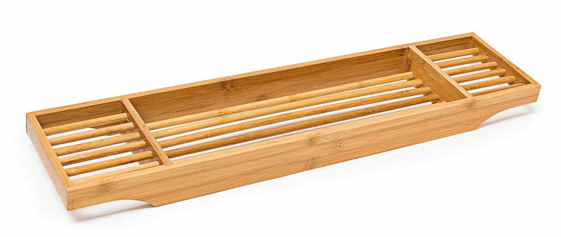 Relaxdays Bamboo Bath Tray & Reviews | Wayfair.co.uk