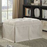 Beatty Tufted Fabric Upholstered Storage Bench by Alcott Hill®