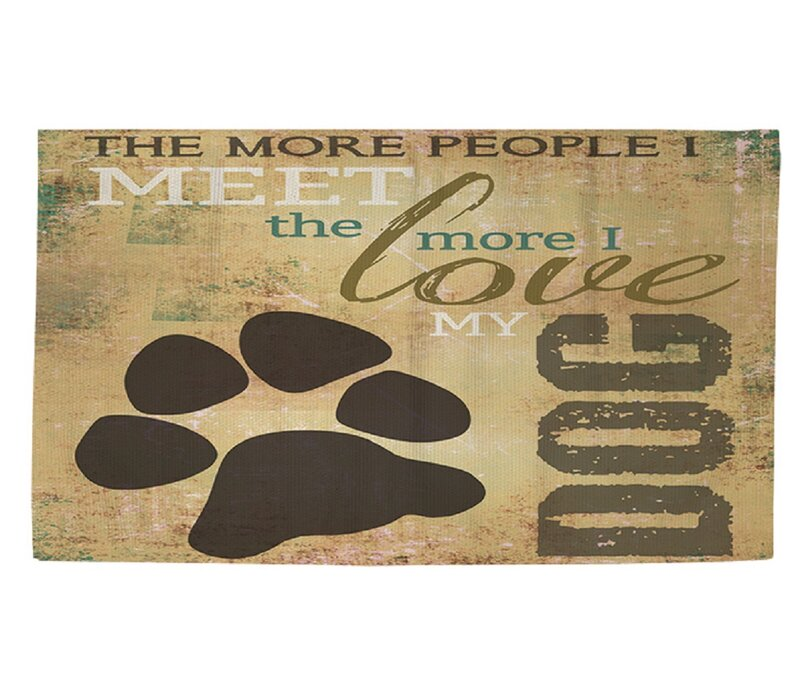 People Vs Dog Area Rug