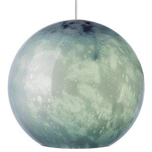 Bungalow Rose Polston 1-Light Globe Pendant