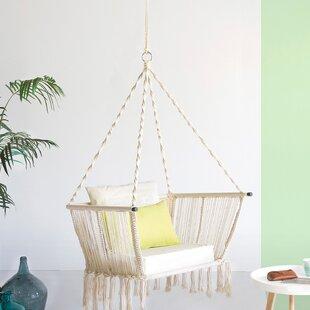 Bretta Rope Hanging Chair by Lynton Garden