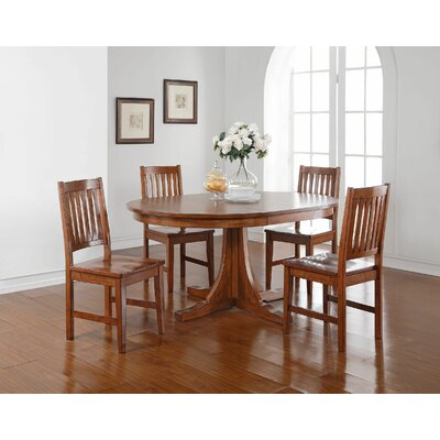 Fort Kent Extendable Dining Table Loon Peak