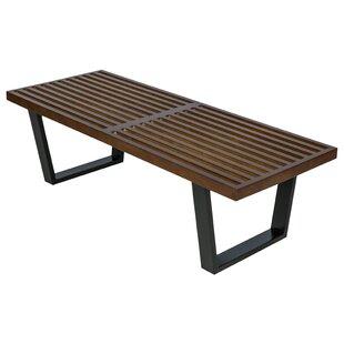 Inwood Wood Bench by LeisureMod