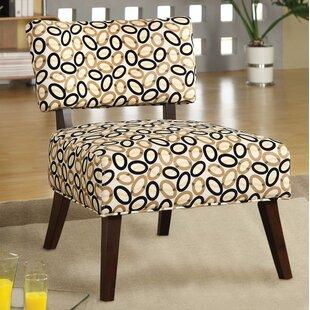 Coulmann Modish Slipper Chair by Ebern Designs