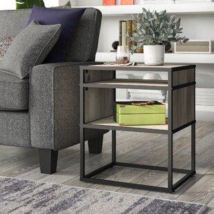 Nowak Metal and Wood End Table