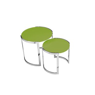 Furtado 2 Piece Nesting Tables