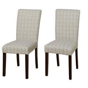 Brayden Studio Hardage Parsons Chair (Set..