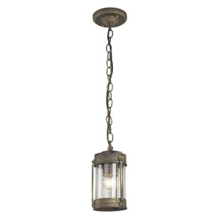 1 Light Outdoor Hanging Lantern By Longshore Tides