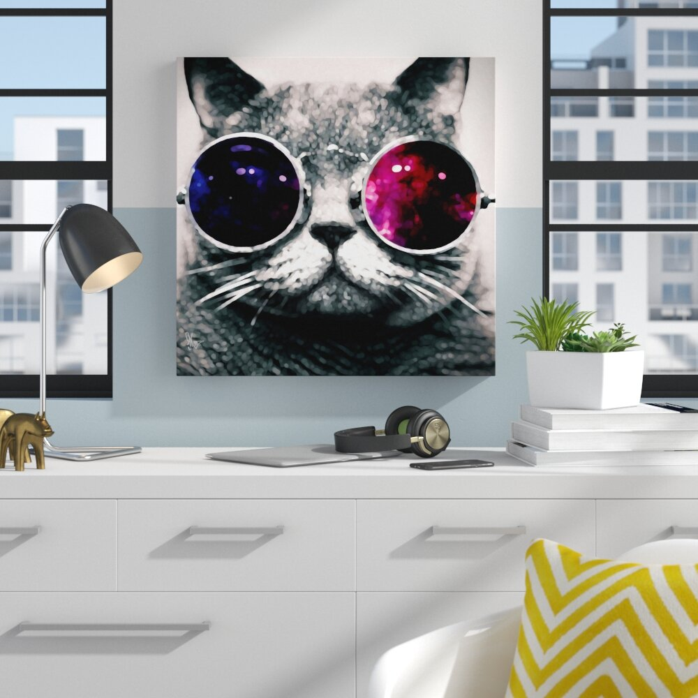 Enerģēt Septiņi ārsts Cat With Sunglasses Ipoor Org