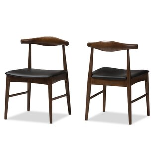 George Oliver Center Drive Upholstered Dining Chair (Set of 2)