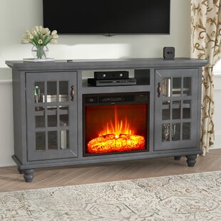 Blackwell Modern Country 65 TV Stand with Fireplace by Darby Home Co