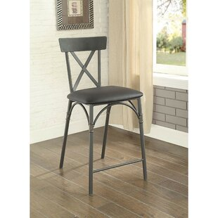 Branum Metal Frame Counter Height Dining Chair (Set of 2) Williston Forge