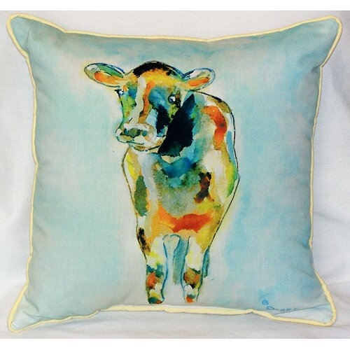 Elegant Cow Indoor/Outdoor Throw Pillow Amazing Ideas