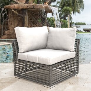 Panama Jack Outdoor Modular Patio Chair with Sunbrella Cushions