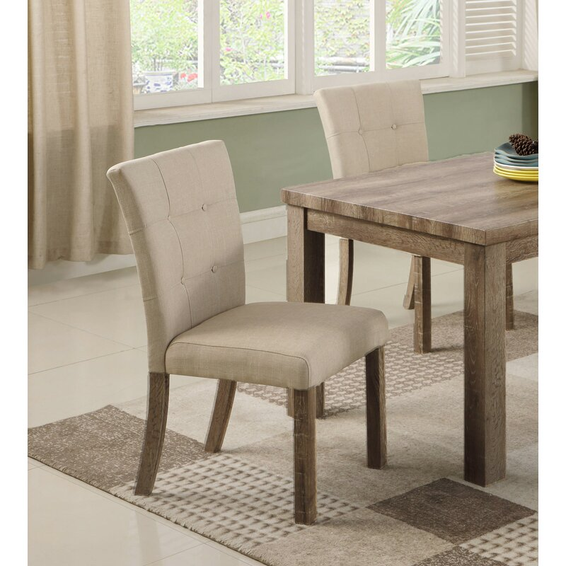 Ophelia Co Clanton Upholstered Dining Chair Reviews Wayfair