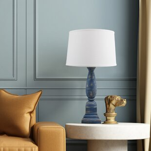 Parodi Tapered Pedestal Ceramic 30 Table Lamp