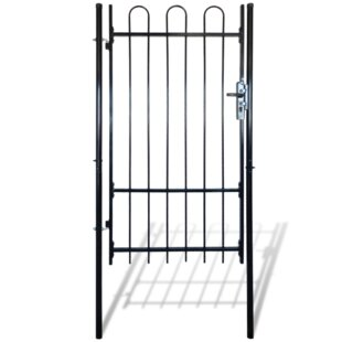 3' X 8' (1m X 2.5m) Metal Gate By Sol 72 Outdoor