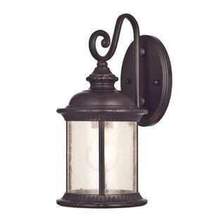 Buy luxury Morrissey 1-Light Outdoor Wall Lantern By Alcott Hill