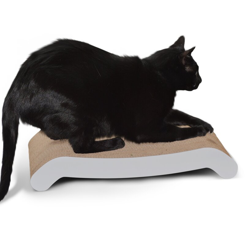 Wide Cat Scratching Board With Catnip Rapid Heat Dissipation Dishes, Feeders & Fountains