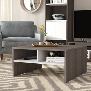 Price Check Frederick Storage Coffee Table with Magazine Rack By Latitude Run
