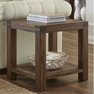 Olivier Acacia Wood End Table