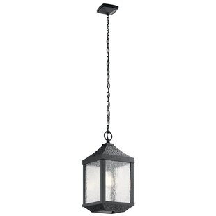 Charlton Home Halstead 1-Light Outdoor Hanging Lantern