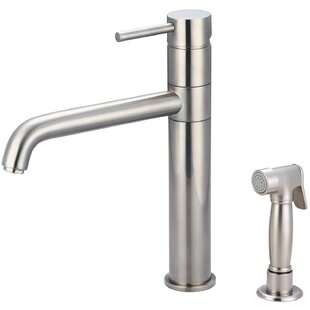 Pioneer Motegi Single Handle Kitchen Faucet with Side Spray