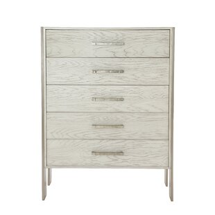 Madigan Tall 5 Drawer Accent Chest by Bernhardt