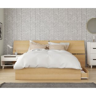 Leesburg Platform 3 Piece Bedroom Set by Ebern Designs
