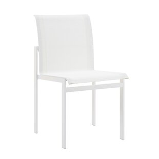 Santistevan Stacking Patio Dining Chair (Set of 2)