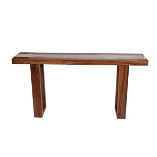 Makenna Live Edge Console Table