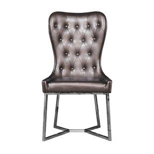 Holmin Upholstered Dining Chair (Set of 2) by Orren Ellis