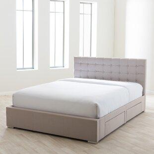 Myrrine Tufted Upholstered Storage Platform Bed