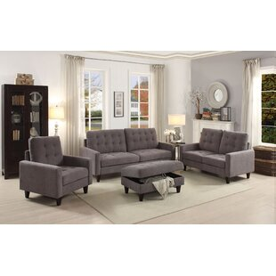 Red Barrel Studio Cascio Configurable 2 Piece Living Room Set