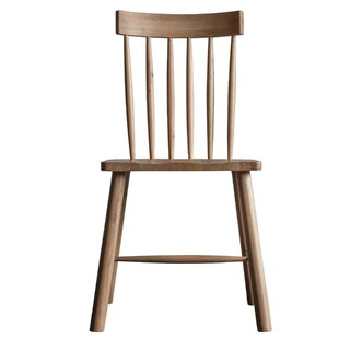 Blaze Solid Wood Dining Chair (Set Of 2) By Gracie Oaks