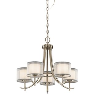 Taasi Chandelier in Antique Pewter by Kichler