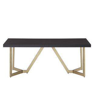 Dallas Abstract Coffee Table by Everly Quinn